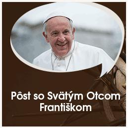 Ako vidí pôst sv. otec František